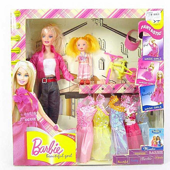 Autre UR CE048016New Fashion Design Princess Toys For Barbie Doll Real Barbie Toys Suit à prix pas cher