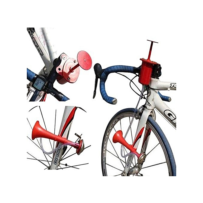 Generic Useful Bicycle Bike Cycling Metal Air Horn Hooter Bell Bugle Trumpet New Gesmont à prix pas cher
