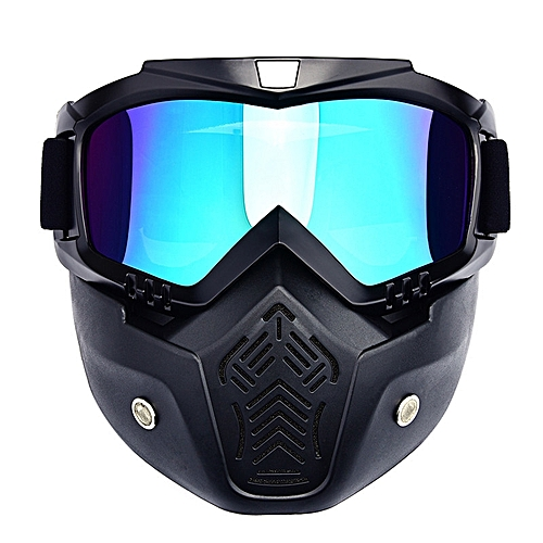 Generique Masque A Casque Pour Moto Velo Ski Equitatio Quad