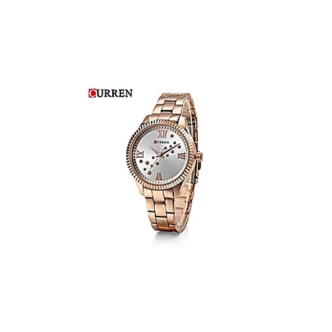 C9009l Montre Bracelet Rose Femmes Gold Pour Casual Montres PkXTuOZi