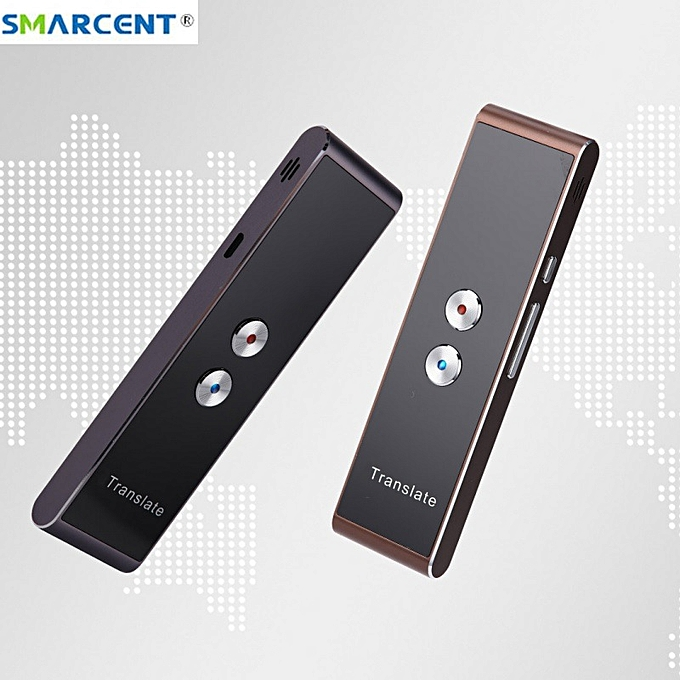 Other Smarcent T8 30 Multi-Language Translation Smart Voice Speech Translator Two-Way Real Time  For Learning Travelling Business Meet WOEDA à prix pas cher