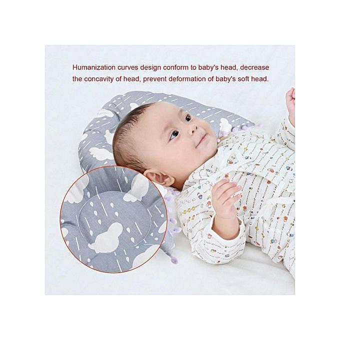 Other Newborn Infant Baby's Pillow Safe Support Sleep Pillows à prix pas cher