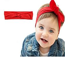 608540086e1ba Bandeau Cute Arc Coloré Rouge Pour Bébé Fille 0-4 Ans