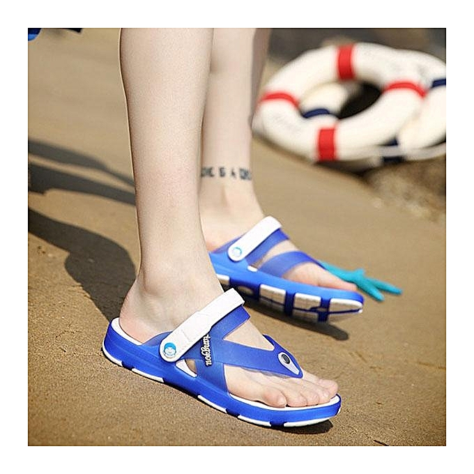 Fashion Fashion Men Clip-toe Soft Waterproof Beach Sandals Slip On Cool Garden chaussures-EU à prix pas cher