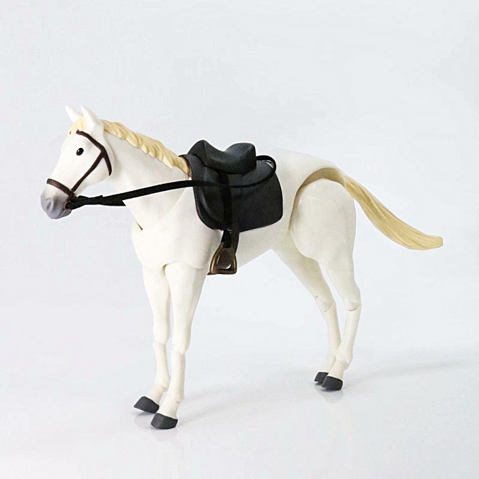 OEM Figma Action Figure Horse Model Toy Simulated Animal 11cm Gift Collection Decor à prix pas cher