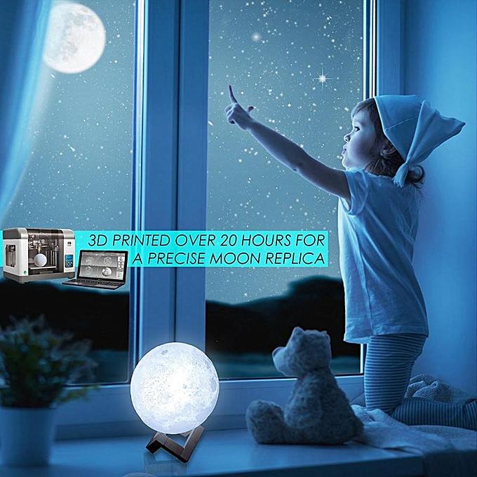 Generic Lampe Veilleuse Nuit avec Haut-Parleur Musique Sans Fil bleutooth Support en Bois à prix pas cher