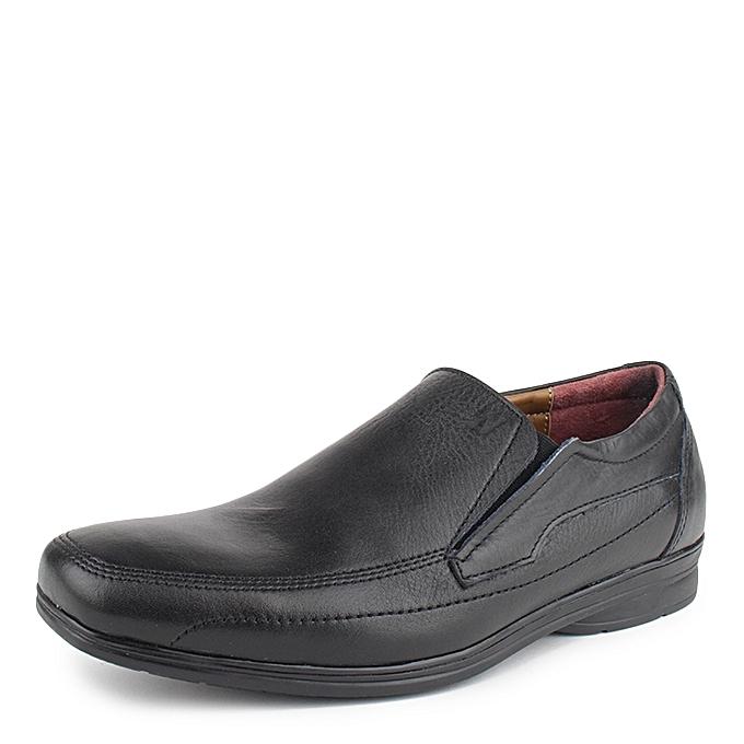 N nano Chaussures Semi Médicales Médicales Semi en Cuir Noir à prix pas cher  | Black Friday 2018 | Jumia Maroc f0bf45