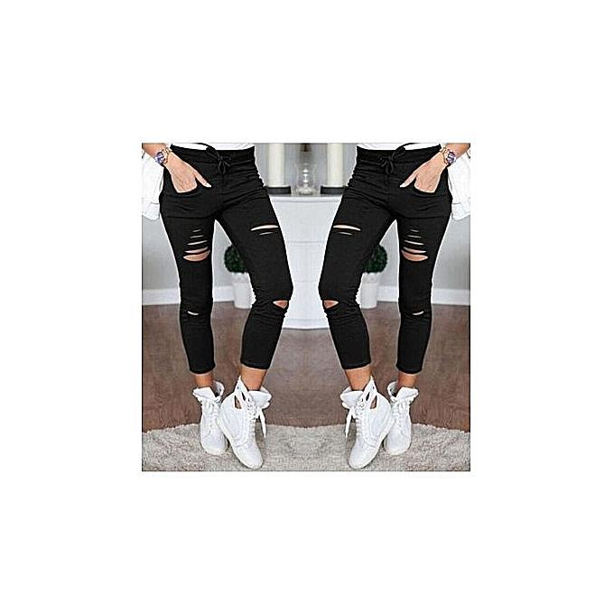 Generic Jeans Pour femmes - noir à prix pas cher