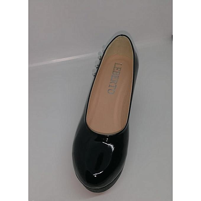 6a241d1f9536 Générique chaussures à talon femmes Tendance Femme- Noir à prix pas ...