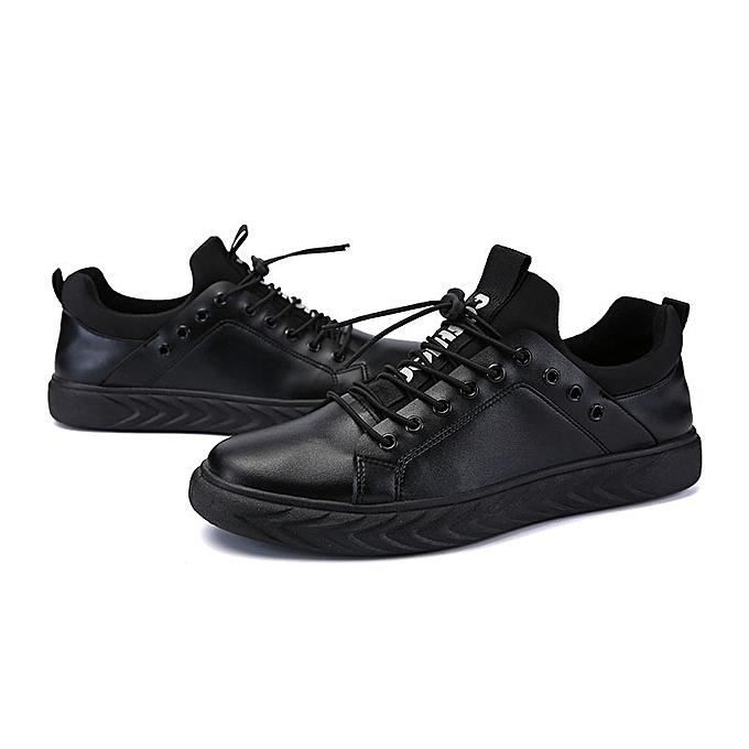 Autre  's Casual Sports Black Shoes Shoes Black à prix pas cher  | Jumia Maroc 347466