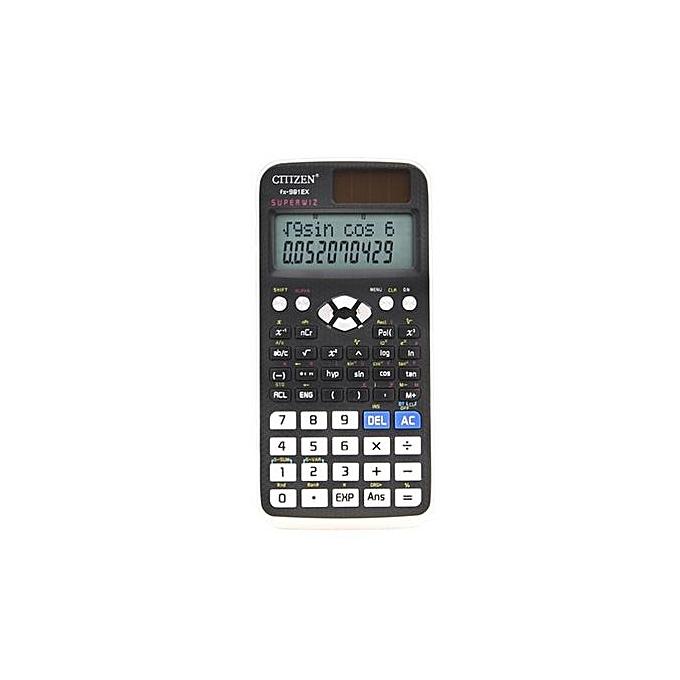 Generic FX-991EX Scientific Calculator Student Function 240 Matrix Solving Equations Computer à prix pas cher