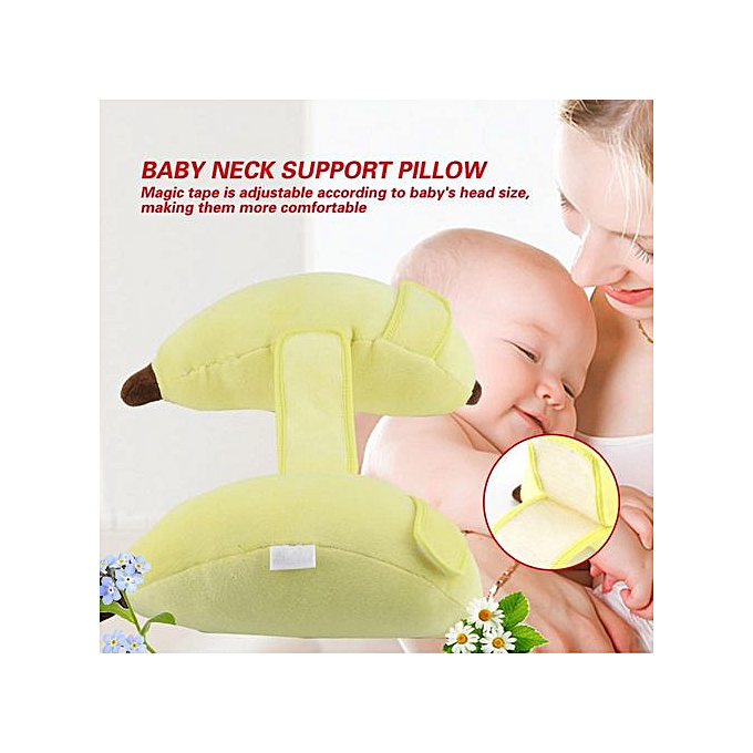 Other Baby Car Seat Stroller Adjustable Headrest Cushion Neck Support Head Pillow(jaune) à prix pas cher