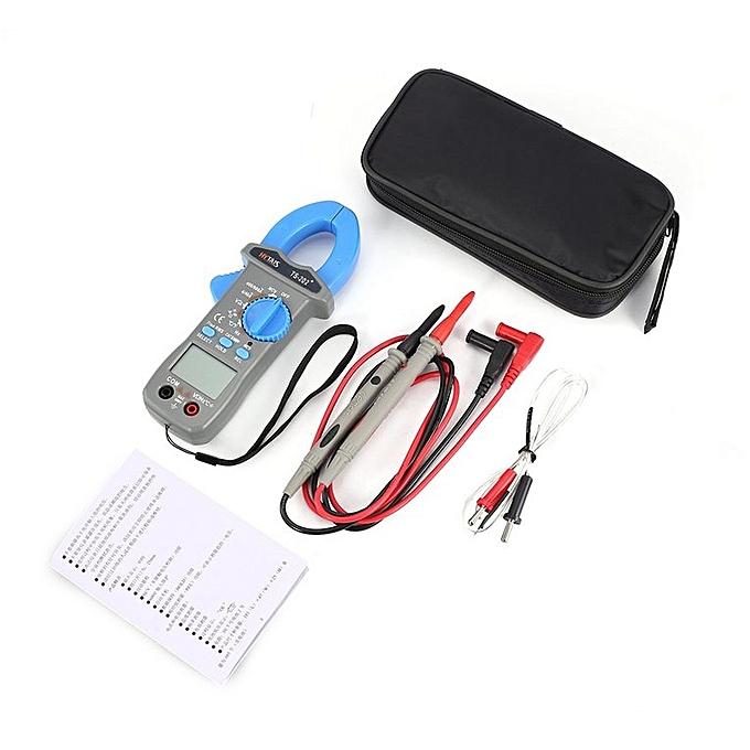 Allwin HYTAIS TS202+ Pince multimètre numérique Multimètre True RMS 3999 bleu compte testeur à prix pas cher
