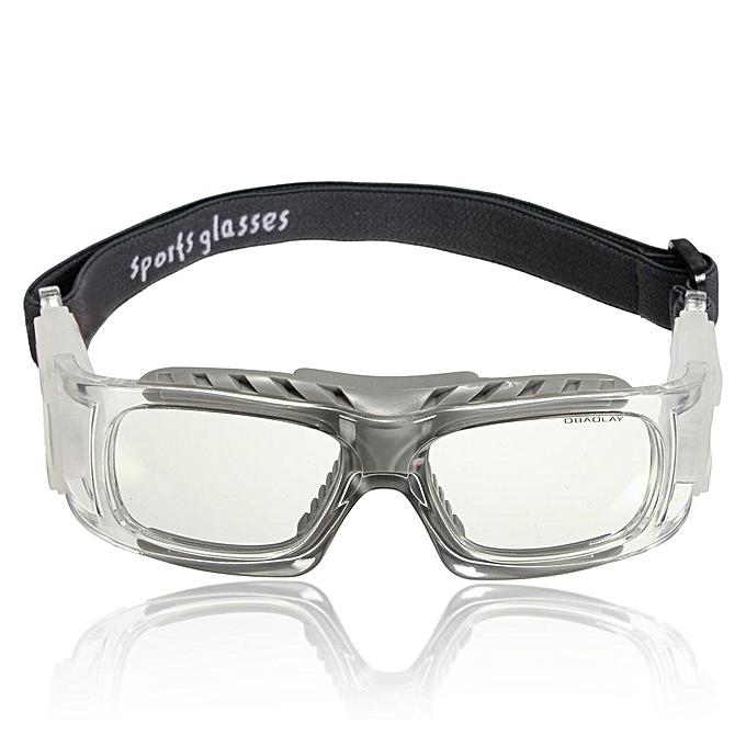 UNIVERSAL 6pcs Basketball Cycling Football Sports Prougeective Eyewear Goggles Eye Safety Glasses Transparent à prix pas cher
