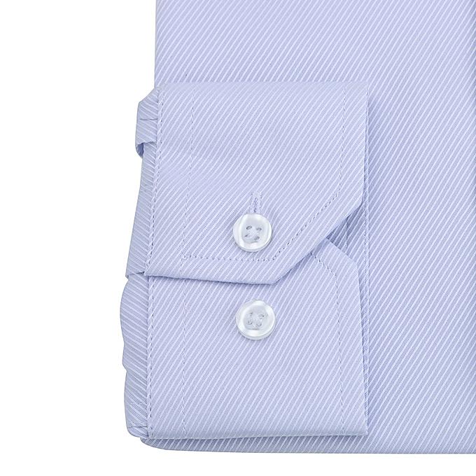 mode jiahsyc store Hommes& 039;s Solid Couleur Twill manche longue Affaires Formal Shirts Clothing chemisier PP 37 à prix pas cher