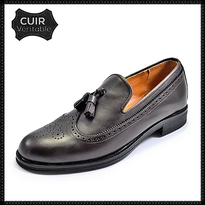 Cuir mocassin Homme mode Homme Cuir tendance chaussure Chaussure 2019 Automne mocassin SqFwaR