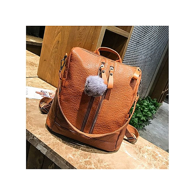 Fashion Hiamok Vintage femmes School Backpacks Girls Casual Large Capacity Shoulder Bags BW à prix pas cher