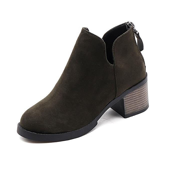 Autre Stylish England Style Style England Retro Martin Boots Thick Sole Heels à prix pas cher  | Jumia Maroc b531c2