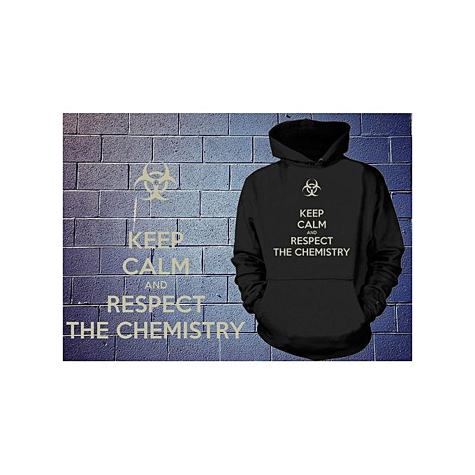 Generic Keep Calm And Respect The Chemistry sweat à capuche Breaking Bad Sweatshirt à prix pas cher