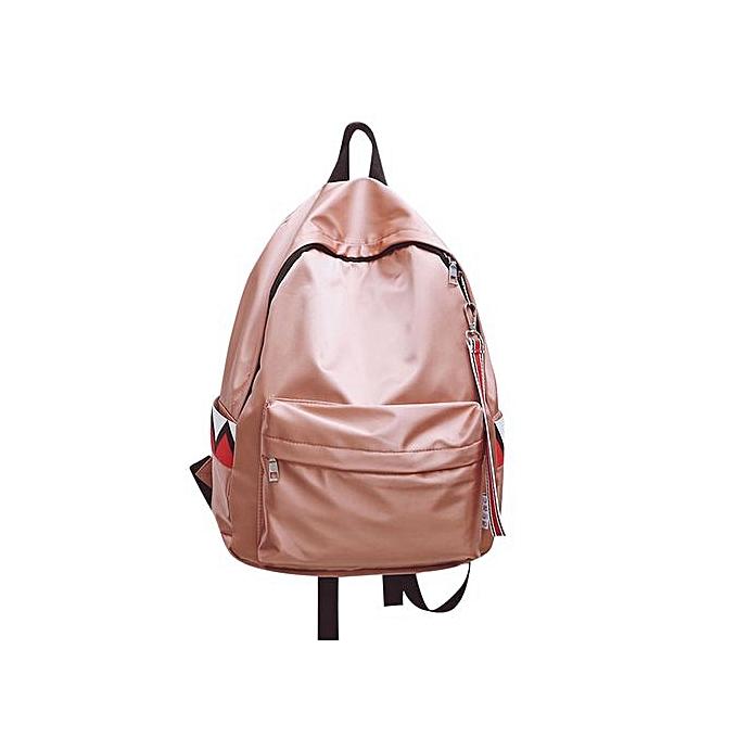 Generic Tectores mode Accessories Unisex Warterproof Anti Warter sac à dos Double Shoulder sac Zipper sac à prix pas cher