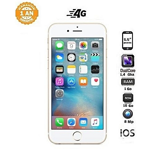 Apple Iphone 6 Plus 5 5 16 Gb 1 Gb Ios Gold A Prix Pas Cher