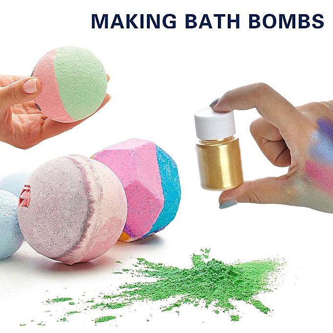 Ageneral (Xiuxingzi) Slime Powder DIY Mica Powder Natural Powder Pigments for Adhesive Pigments Bath à prix pas cher