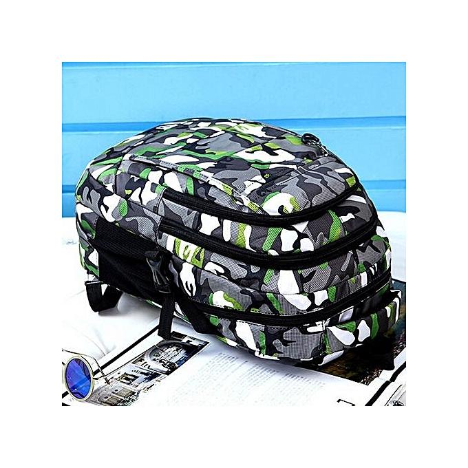 Generic garçons Girls Hommes Nylon Climb sac Shoulder Booksacs School Satchel voyage sac à dos à prix pas cher