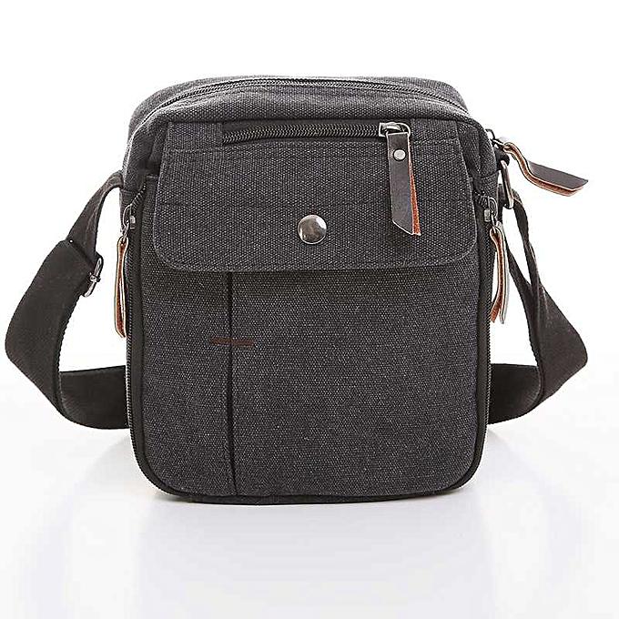 Other Vogue Star Hot sale hommes messenger bags men travel bags canvas bag cross-body bag high quality pouch men purse  YB40-419(noir) à prix pas cher