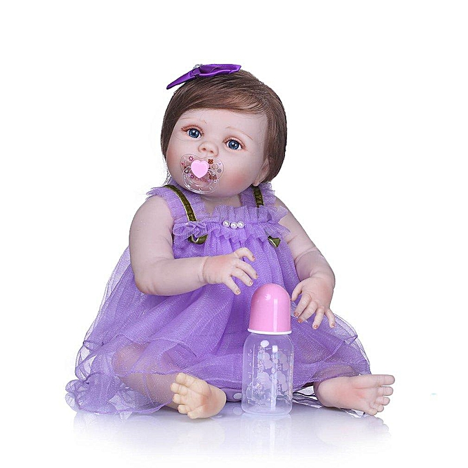 Autre UR 21 pouces Silicone   Doll Mignon Belle Nouveau-Né Bébé Poupée Enfants Jouent Jouets à prix pas cher