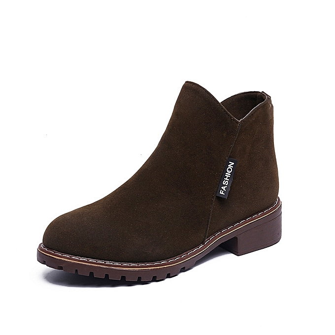 OEM Casual Low Heel Comfortable Short Boots  for WoHommes  Boots Students à prix pas cher  | Black Friday 2018 | Jumia Maroc 31f1eb