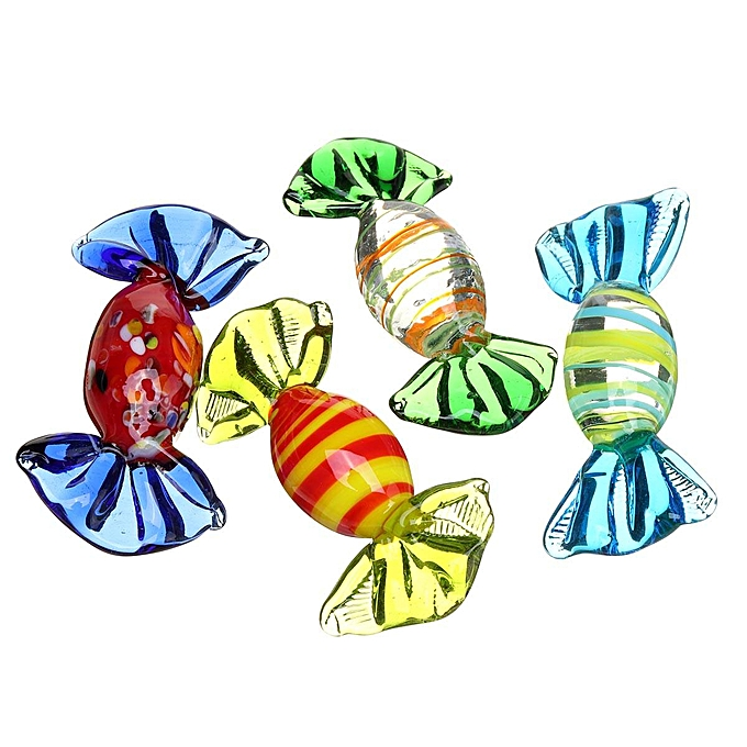 OEM 20Pcs Set Vintage Glass Sweets mariage Party Candy Christmas Decorations Gift à prix pas cher
