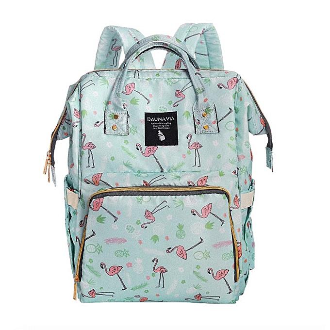 Other mode   voituree sac  my pregnant femmes diaper sac grand capacité   sac voyage sac à dos designer(vert) à prix pas cher