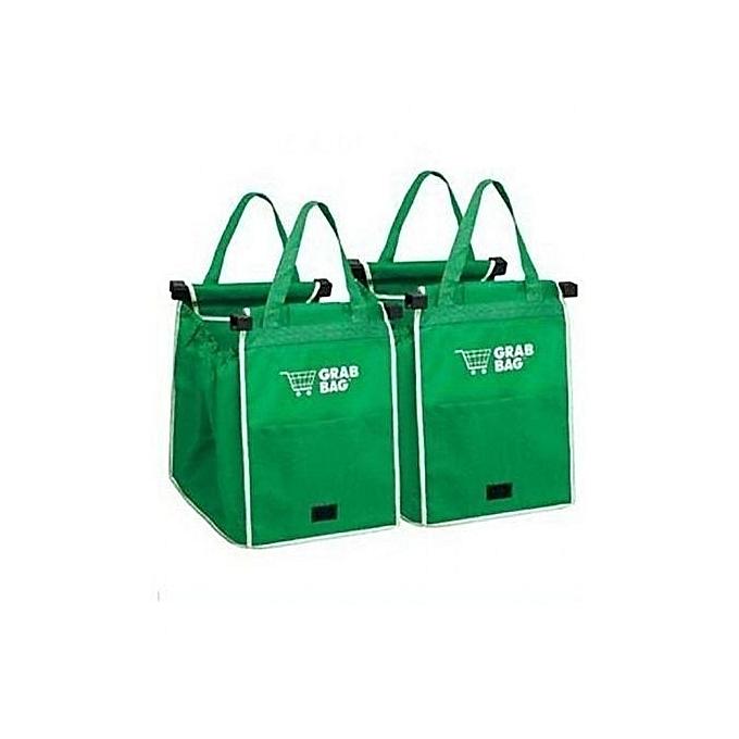 Lot de 2 sacs de courses r utilisables sp cial caddie for Aide gouvernementale pour achat de maison