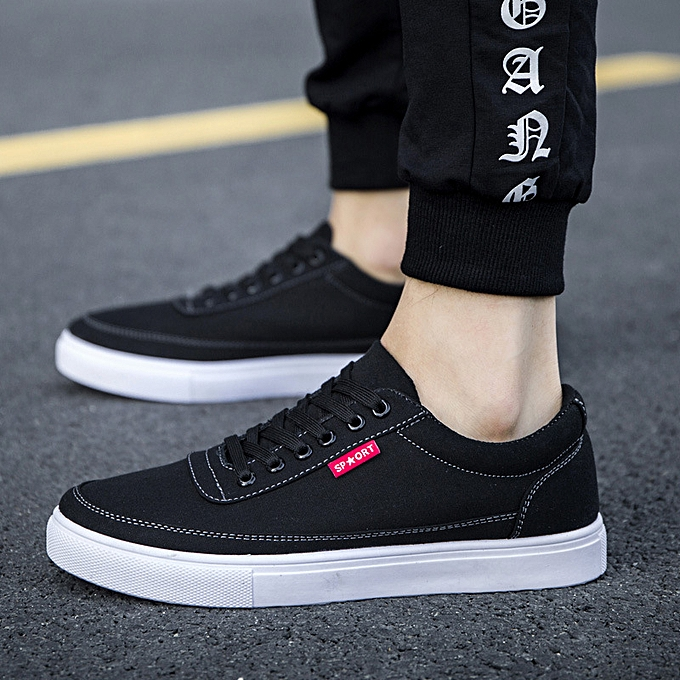 Other New Stylish New Summer Korean Fashion Men's chaussures Leisure Canvas chaussures Cloth-back à prix pas cher