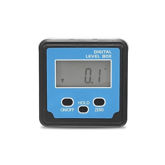 UNIVERSAL Digital Inclinometer Spirit Level Box Prougeractor Angle Finder Gauge Meter Tool bleu à prix pas cher