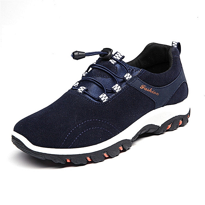 Fashion Men's Trekking Trail Breathable baskets Hiking chaussures Pull on Casual Athletic à prix pas cher    Jumia Maroc