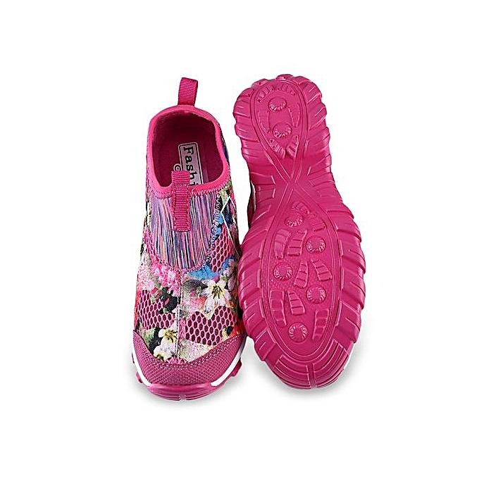 Fashion Casual Butterfly Print Mesh   Breathable Platform Jumia Shoes à prix pas cher  | Jumia Platform Maroc d4d24c