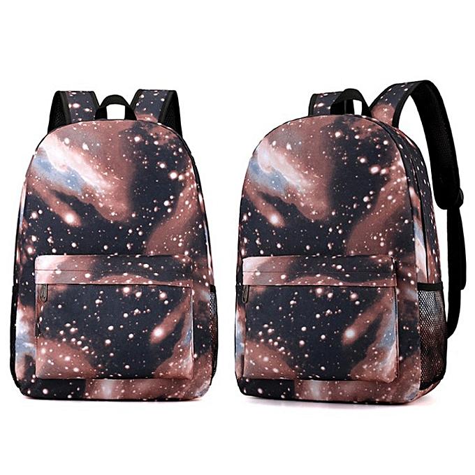 OEM Couple Schoolsac voyage Hiking sac Galaxy sac à dos Collection Luminous sac Teen à prix pas cher