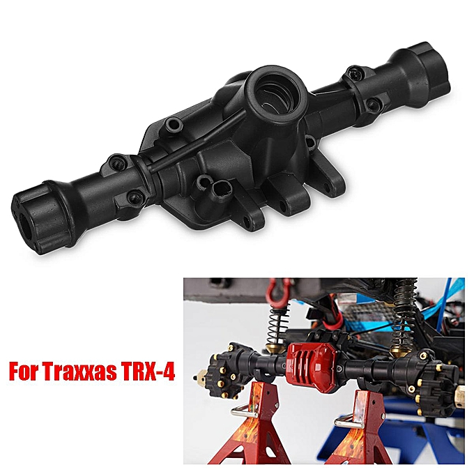 UNIVERSAL Steel Alloy Speed Rear Axle Housing For 1 10 Traxxas TRX-4 RC voiture Crawler Truck à prix pas cher