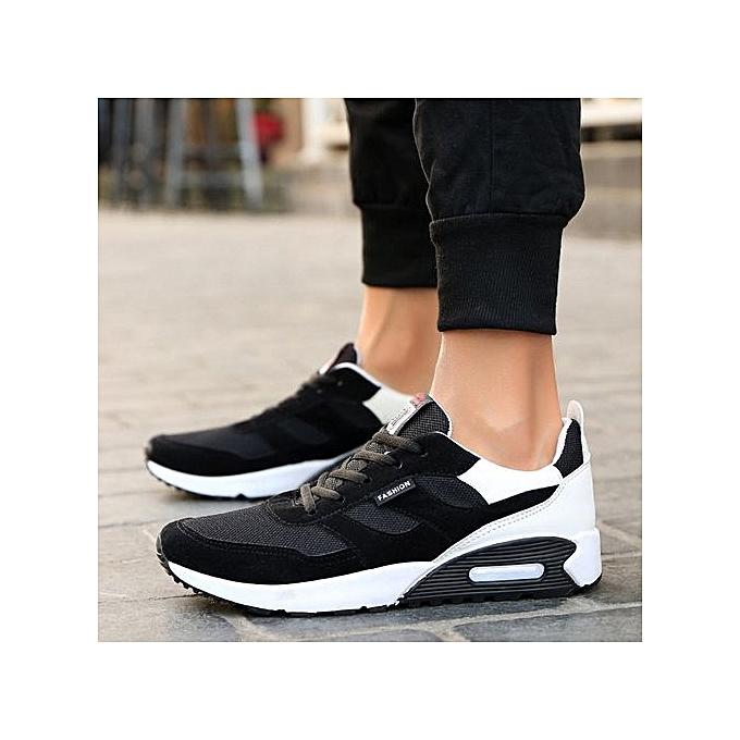 Fashion Xiuxingzi_Men's Casual Travel chaussures Fashion Low Ankle Lace-up Sport chaussures à prix pas cher