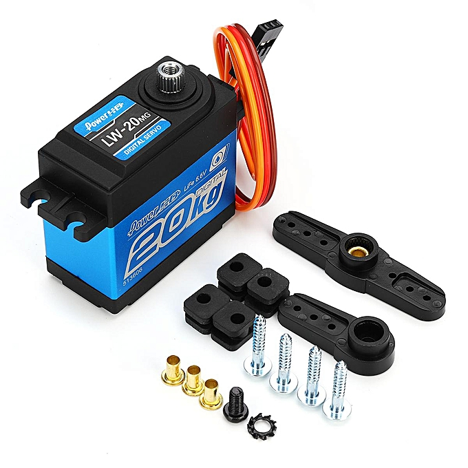 UNIVERSAL POWER HD LW-20MG imperméable High-Torque Digital Servo 20kg 60g for voitures Airplane à prix pas cher