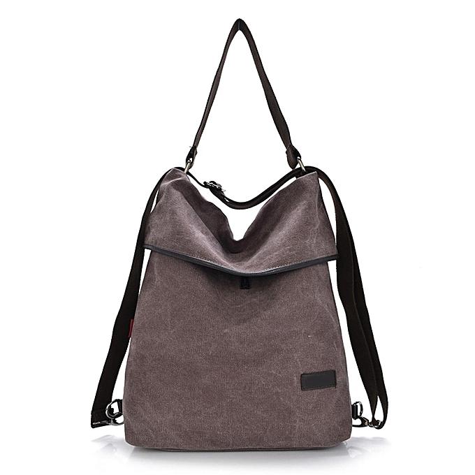 UNIVERSAL Fashion canvas multi-purpose shoulder bag à prix pas cher