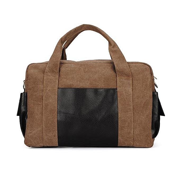 Fashion Mens Vintage Casual Canvas Handbag Crossbody Shoulder Bag à prix pas cher
