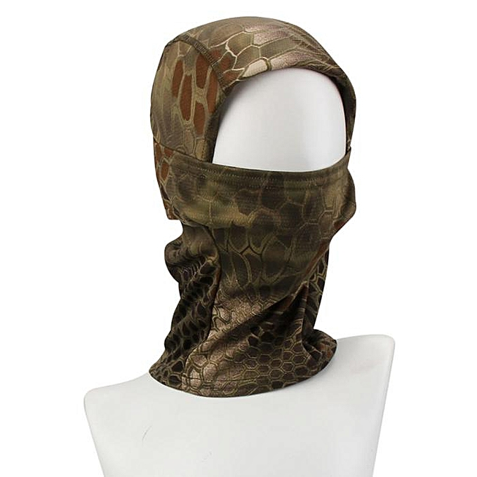 GENERAL yingwaias Camouflage Army Cycling Motorcycle Cap Hats Full Face Mask à prix pas cher