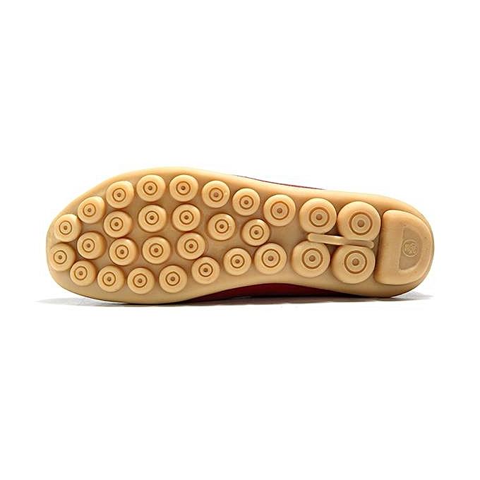 Fashion SOCOFY SOCOFY Fashion Fashion Big Size Pattern Leather Soft Flat Casual Boat Loafers Shoes For WoHommes  à prix pas cher    Jumia Maroc b368ff