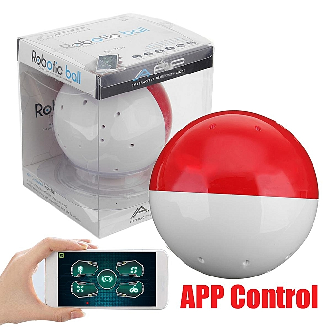UNIVERSAL Wireless bleutooth App Controlled Programming Robotic Ball RC Electronic Toy à prix pas cher