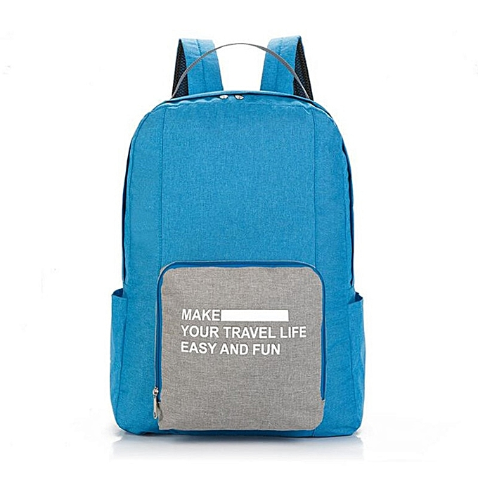 Other voyage sac à dos grand Hommes lumièreweight Oxford Cloth sac à dos imperméable sac à dos Folding sac portable Hommes femmes sac à dos(bleu) à prix pas cher