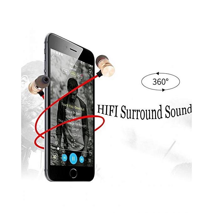 Générique Bluetooth Casque Magnétique Sans Fil écouteurs Avec
