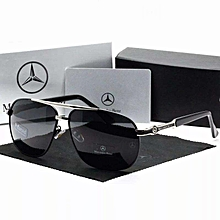 Men Fashion Sunglasses Men Hipster Polarized UV400 Sunglasses Big Frame  Driving Driver Benz Pooh Mirror 248b484562ca