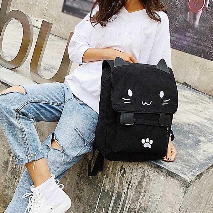 mode Singedan Shop femmes Girl voituretoon toile sac à dos Student Satchel voyage School sac à dos sac à prix pas cher